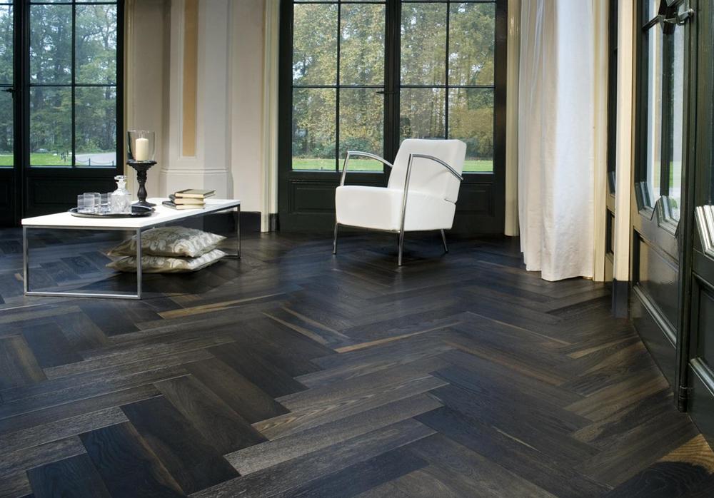 Dark Parquet Flooring Tiles Mint Floor Coverings